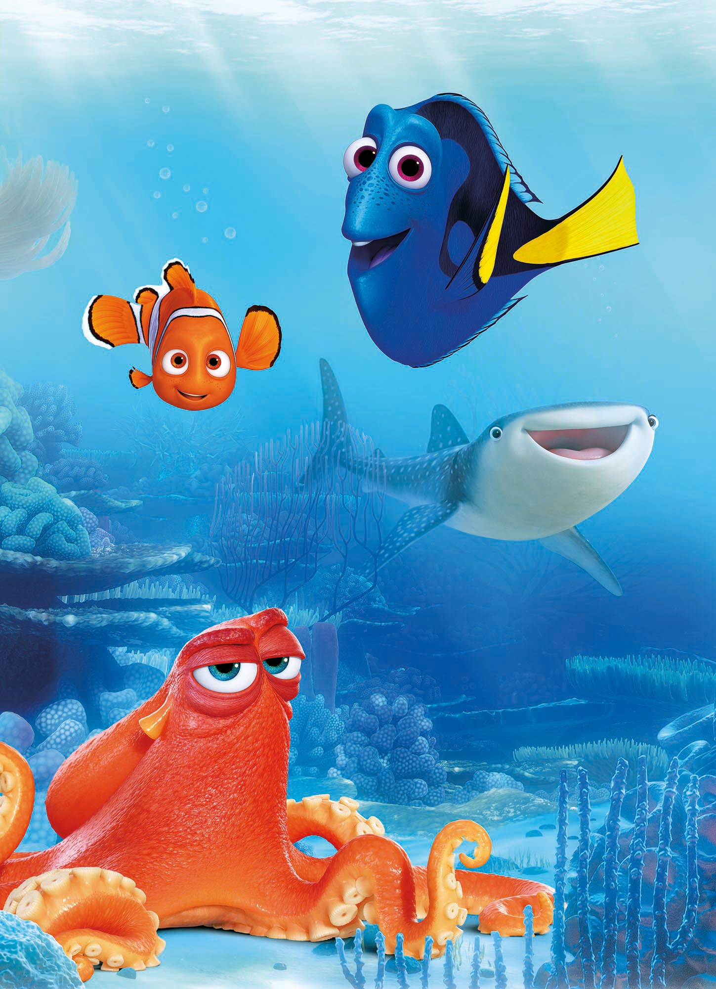Photomural Quot Dory And Friends Quot From Komar Disney