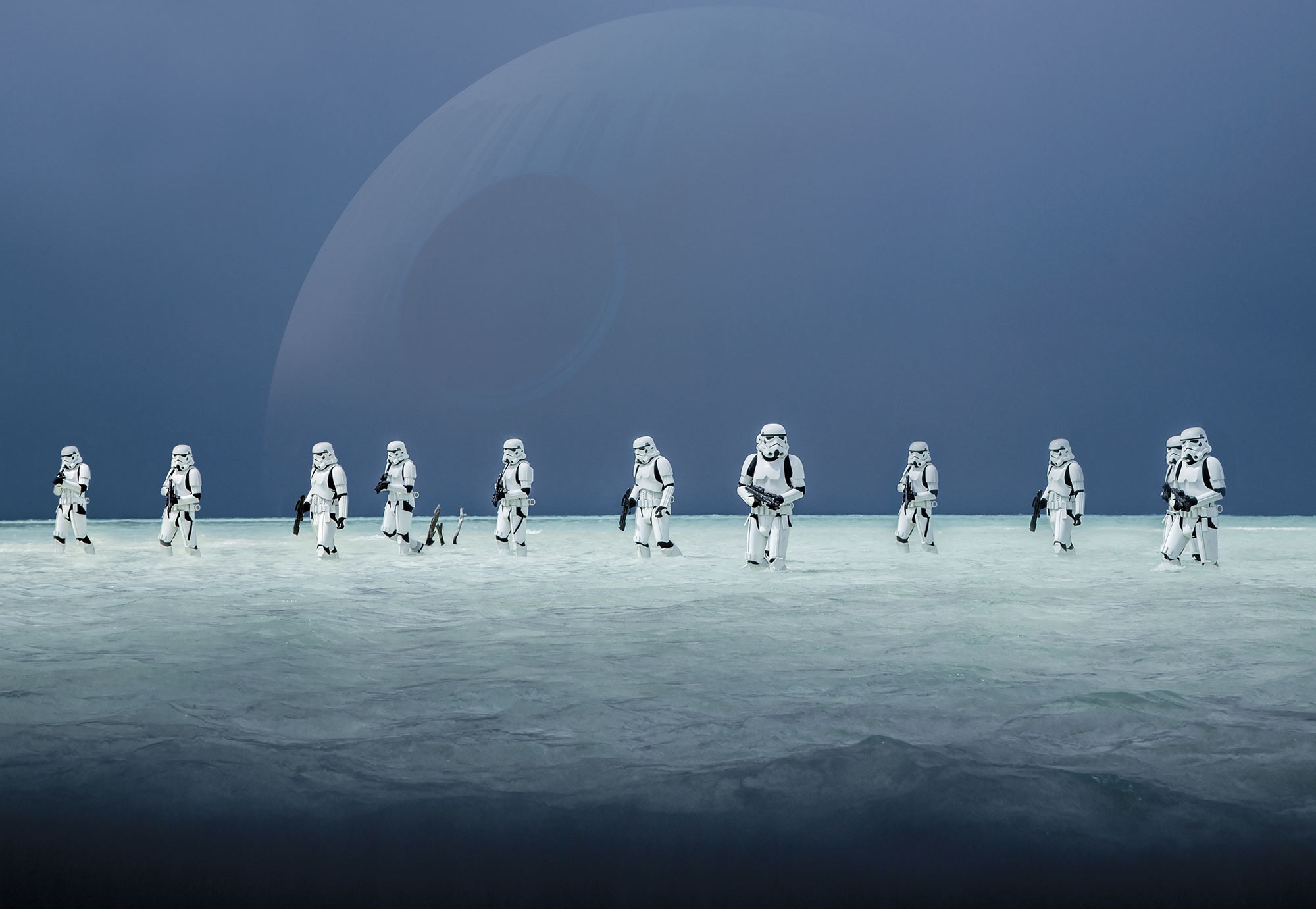 Photomural Quot Star Wars Scarif Beach Quot From Star Wars