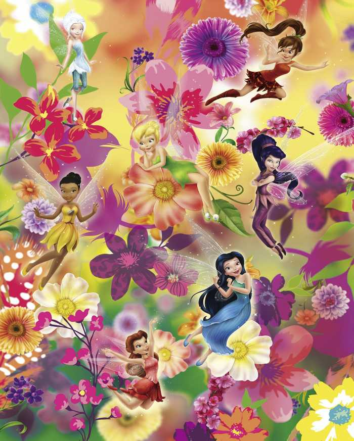 Digital wallpaper Fairies Flowers
