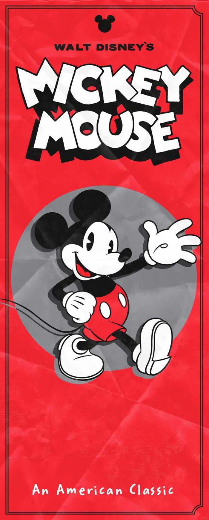 Panel Mickey - American Classic