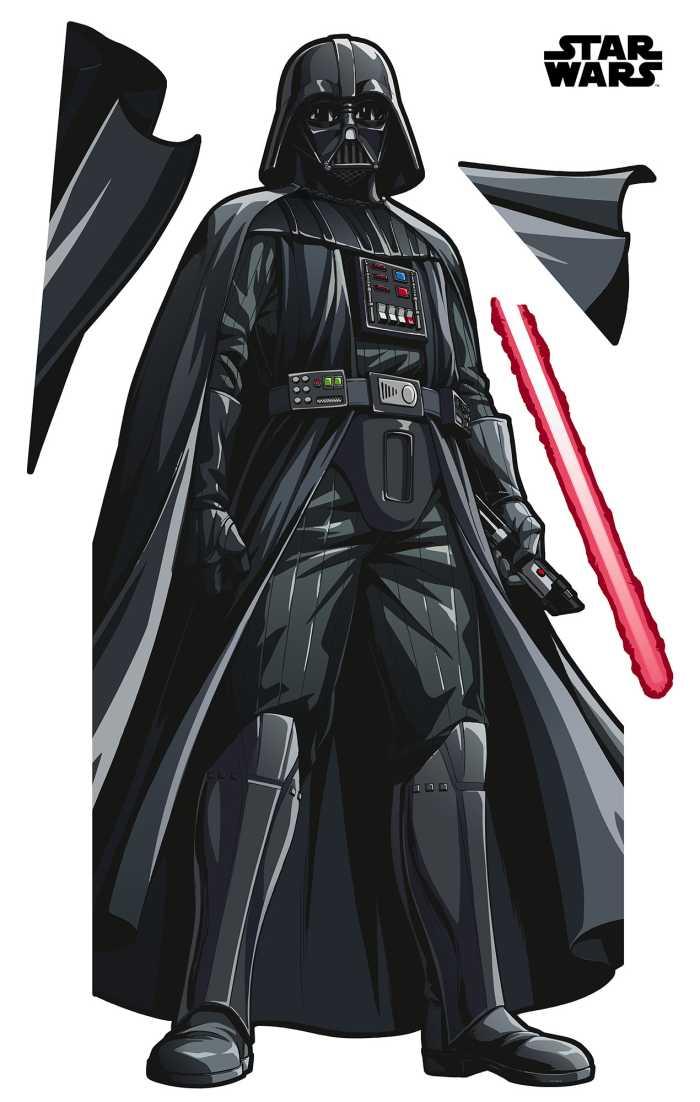 Wall tattoo Star Wars XXL Darth Vader