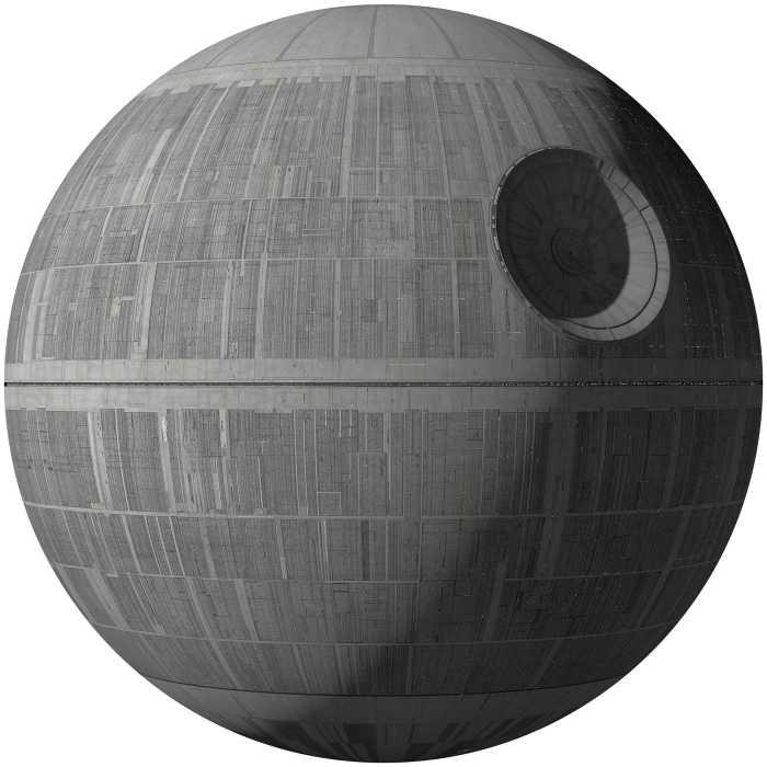 Wall tattoo Star Wars XXL Death Star