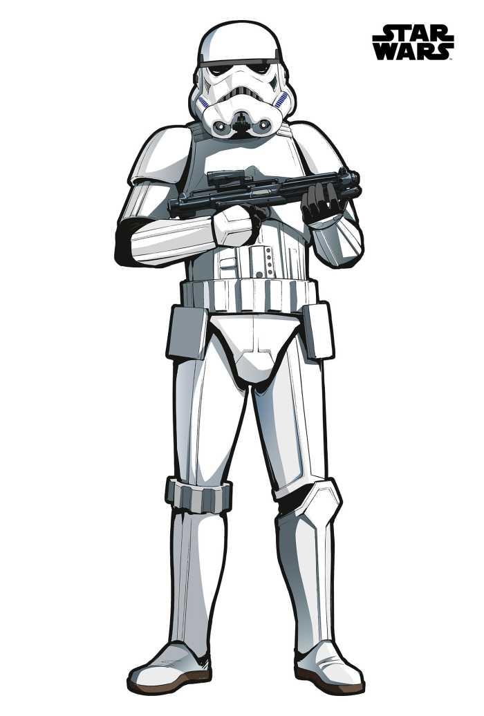 Wall tattoo Star Wars XXL Stormtrooper