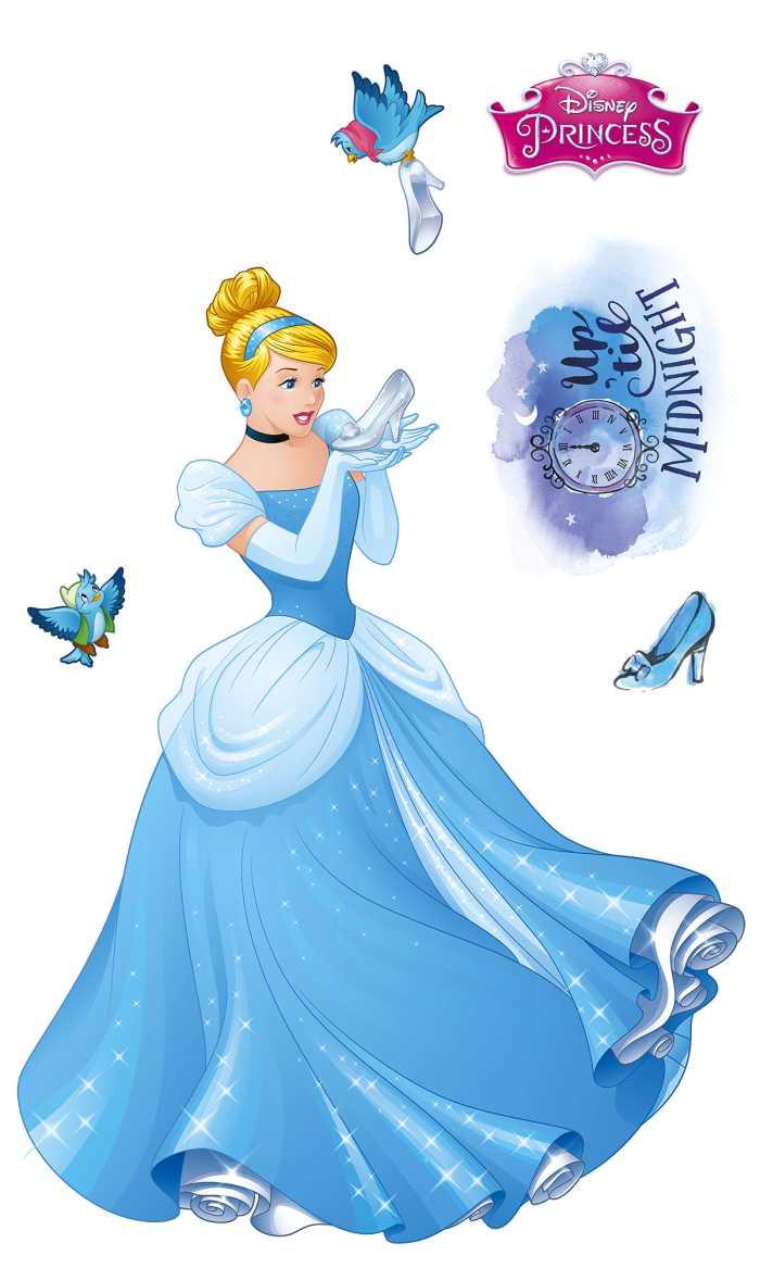 Wall tattoo Cinderella XXL