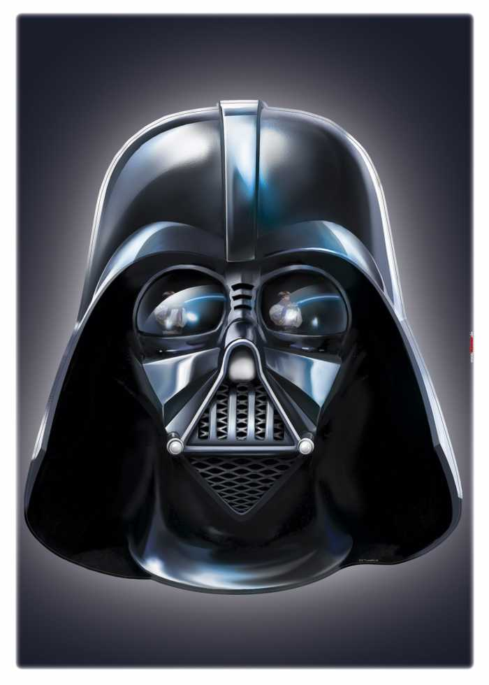 Wall tattoo Star Wars Darth Vader