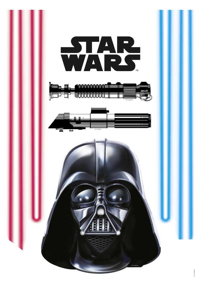 Wall tattoo Darth Vader