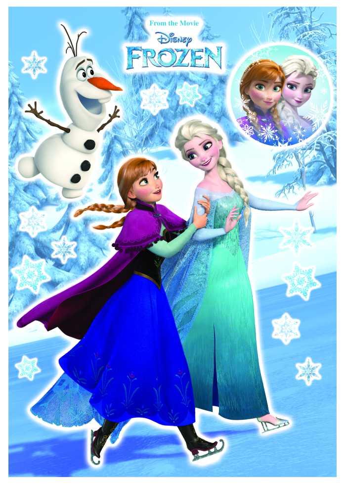 Wall tattoo Anna und Elsa