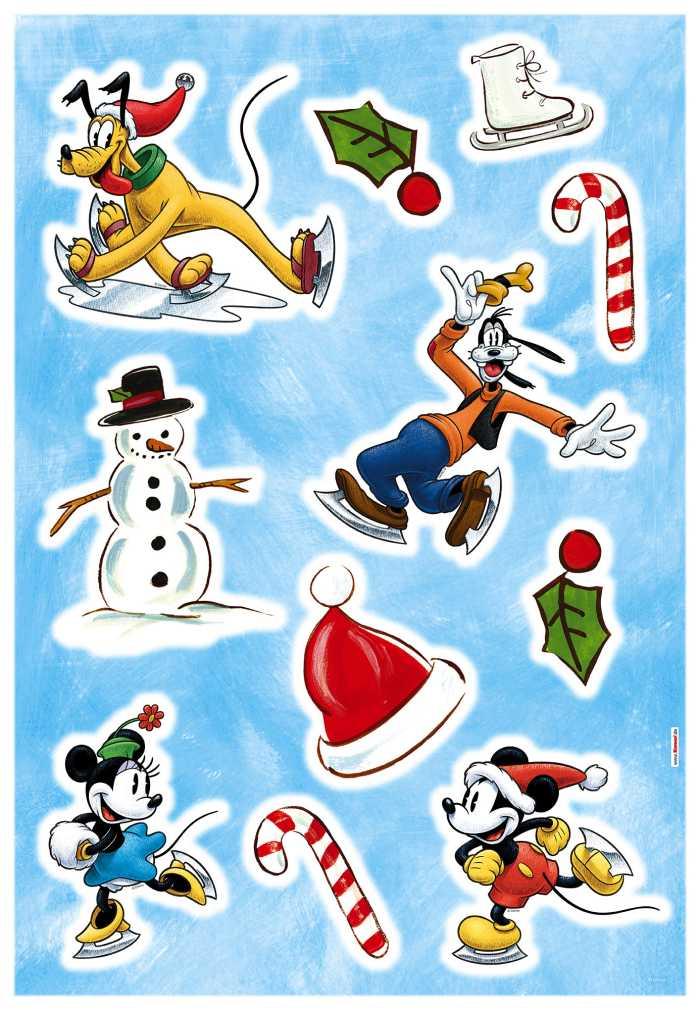 Wall tattoo Mickey Ice slide