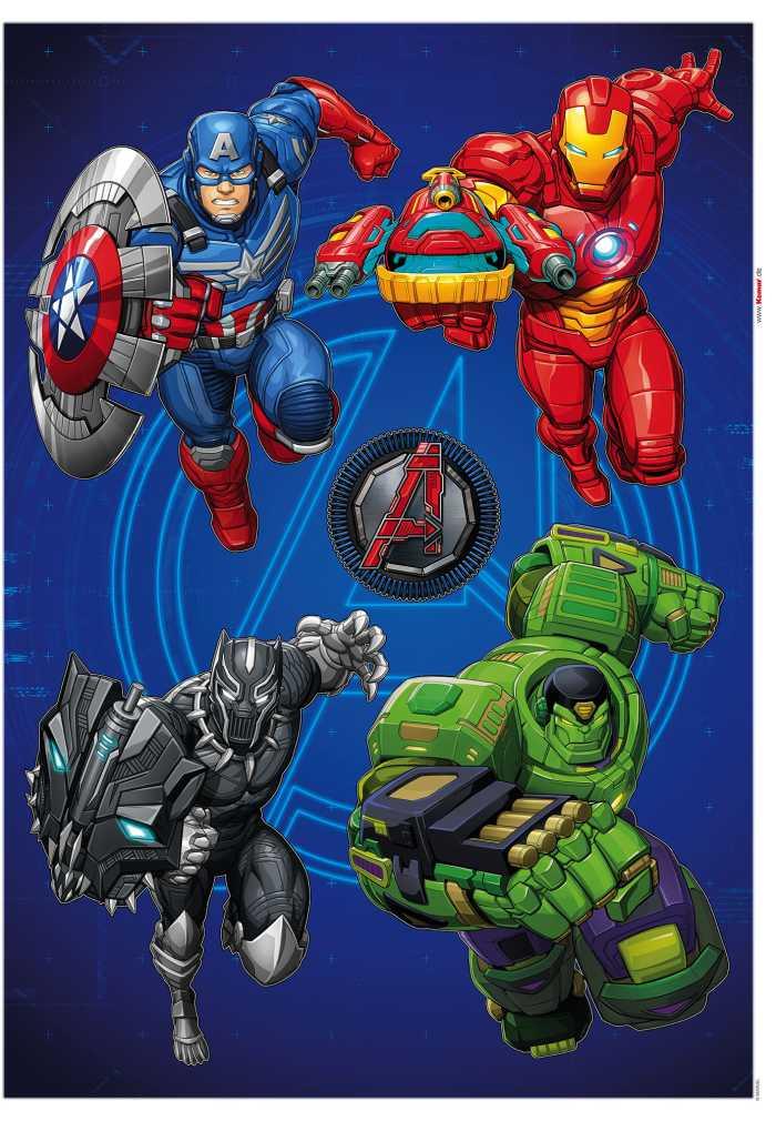 Wall tattoo Avengers Mech Strike