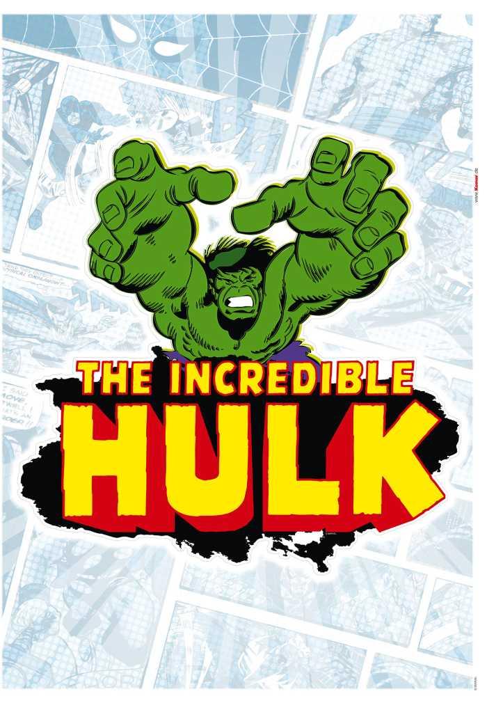 Wall tattoo Hulk Comic Classic