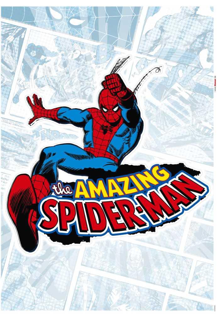 Wall tattoo Spider-Man Comic Classic