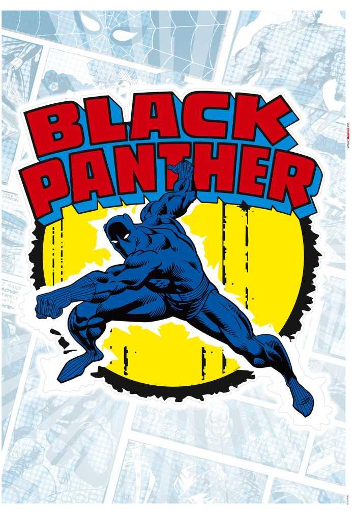 Wall tattoo Black Panther Comic Classic