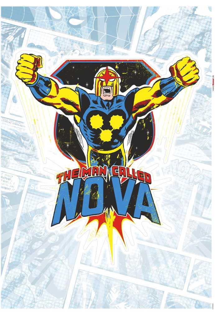 Wall tattoo Nova Comic Classic