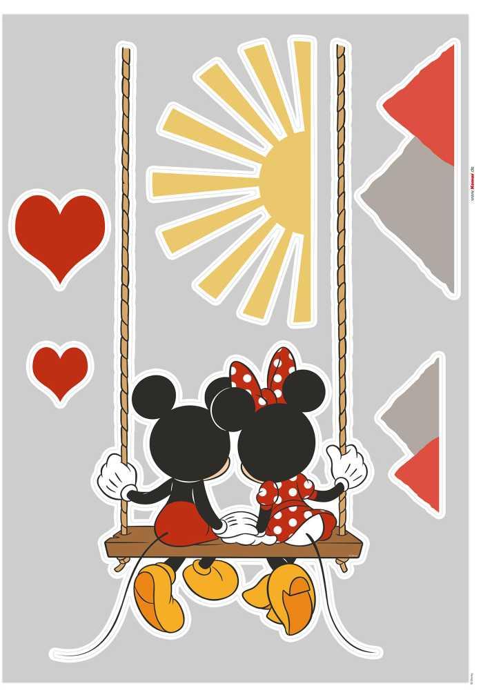 Wall tattoo Mickey Swing