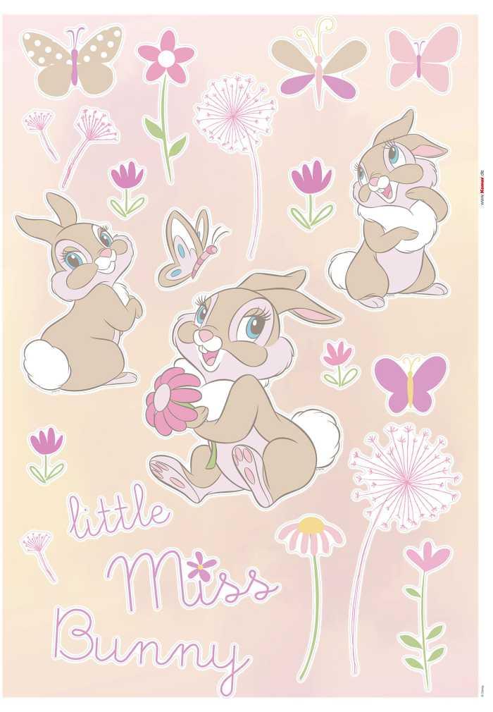 Wall tattoo Little Miss Bunny