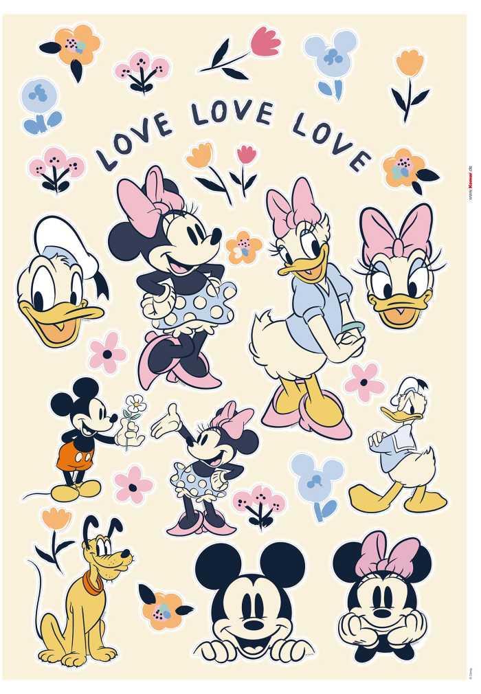 Wall tattoo Love Love Love