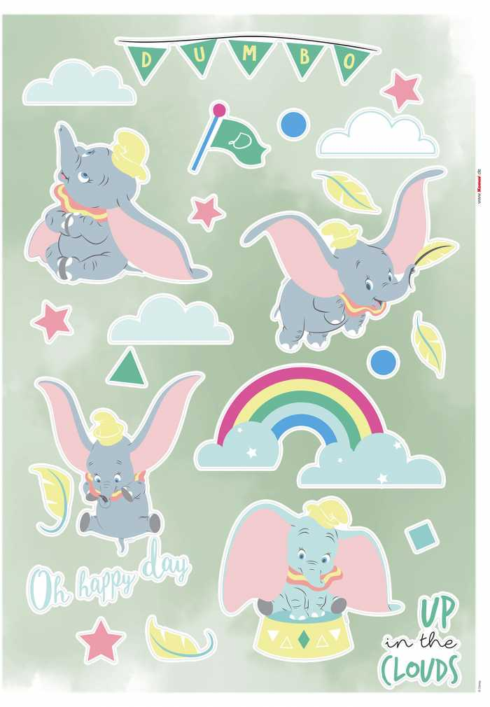 Wall tattoo Dumbo Daydream