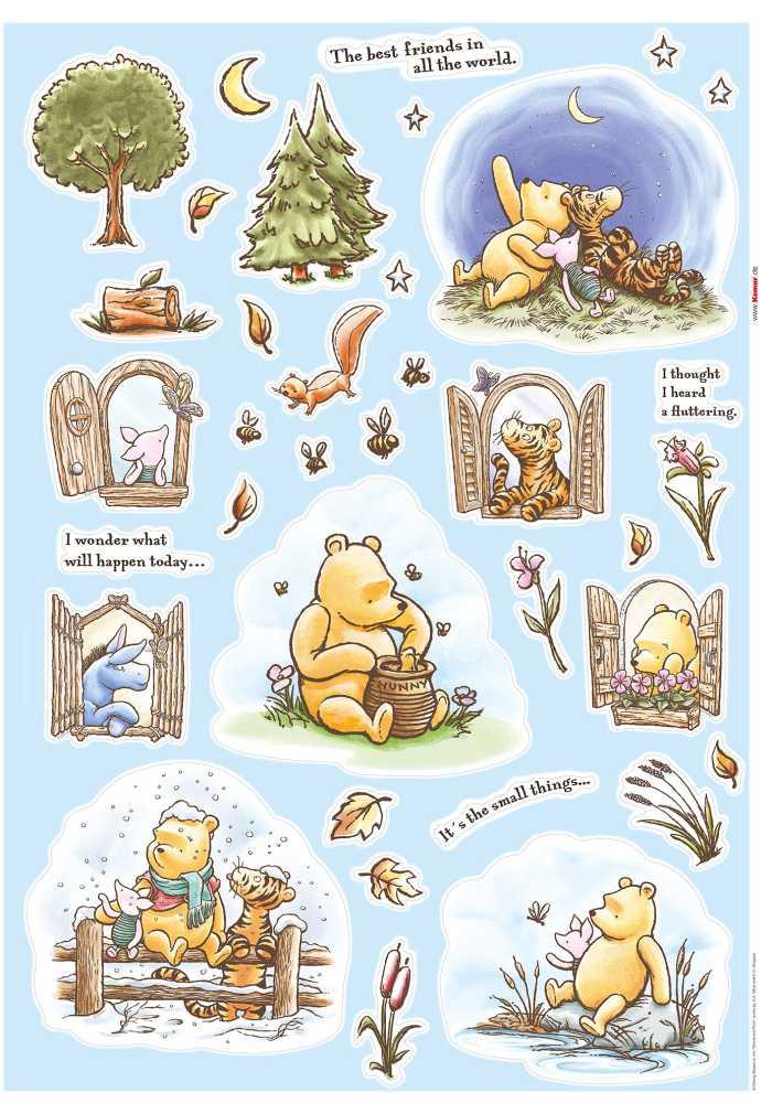 Wall tattoo Winnie the Pooh Adventures