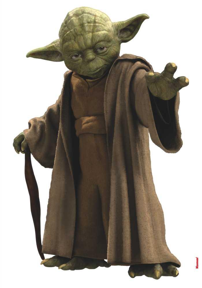 Wall tattoo Star Wars Yoda