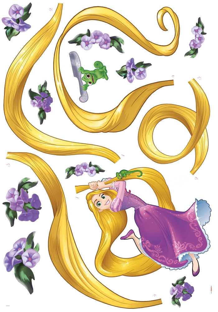 Wall tattoo Rapunzel