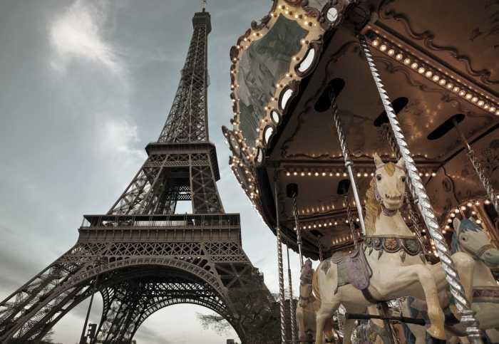 Photomural Carrousel de Paris