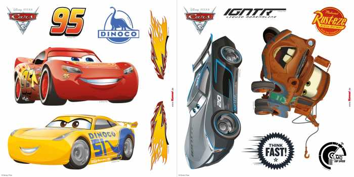 Window sticker Cars3