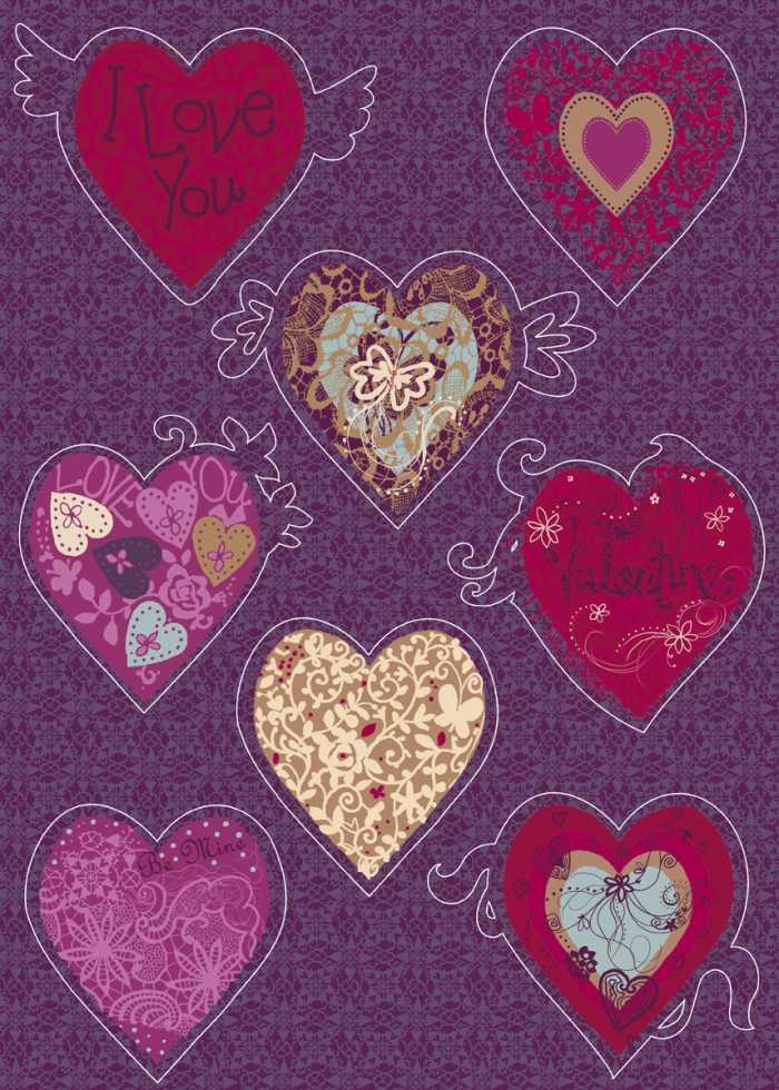 Wall tattoo Valentine