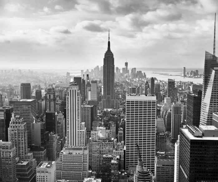 Digital wallpaper NYC Black and White
