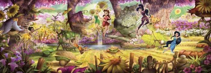 Photomural Fairies Forest