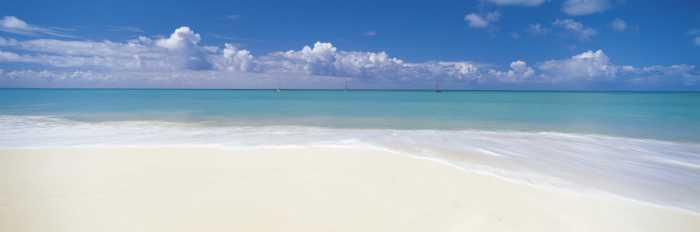 Photomural Deserted Beach