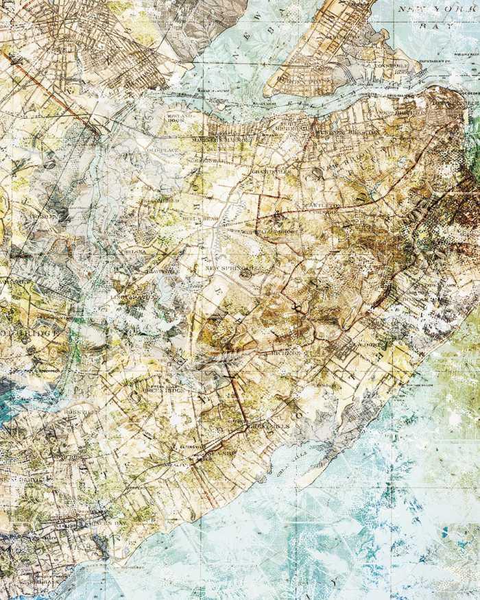 Digital wallpaper Mix Map