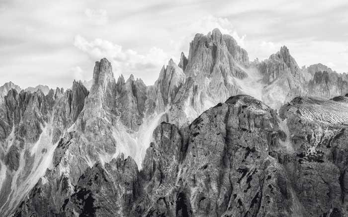 Digital wallpaper Peaks