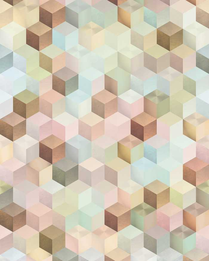 Digital wallpaper Cubes