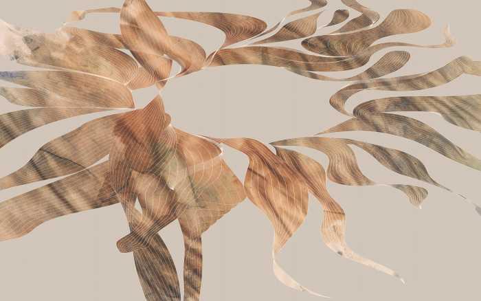 Digital wallpaper Autumn Leaves