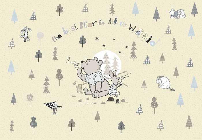 Photomural Winnie Pooh Best Bear