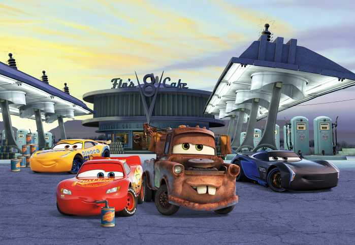 Photomural Cars3 Station
