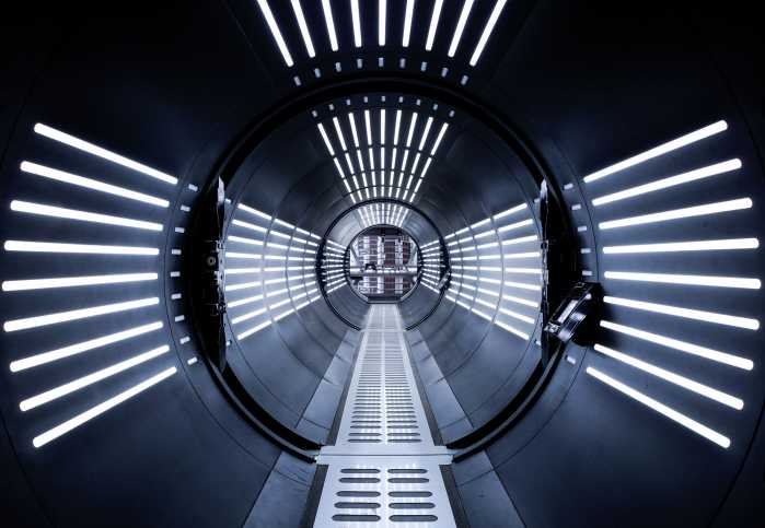 Photomural STAR WARS Tunnel