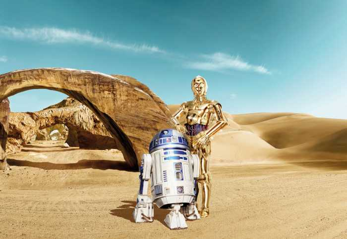 Photomural Star Wars Lost Droids