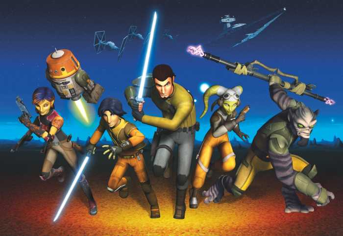 Photomural Star Wars Rebels Run