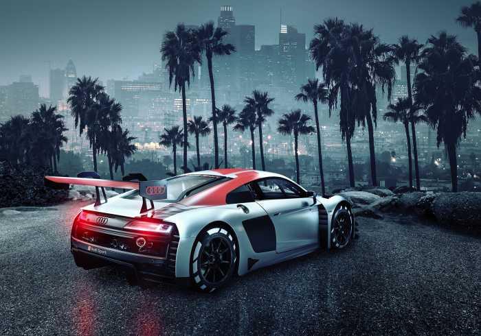 Photomural Audi R8 L.A.