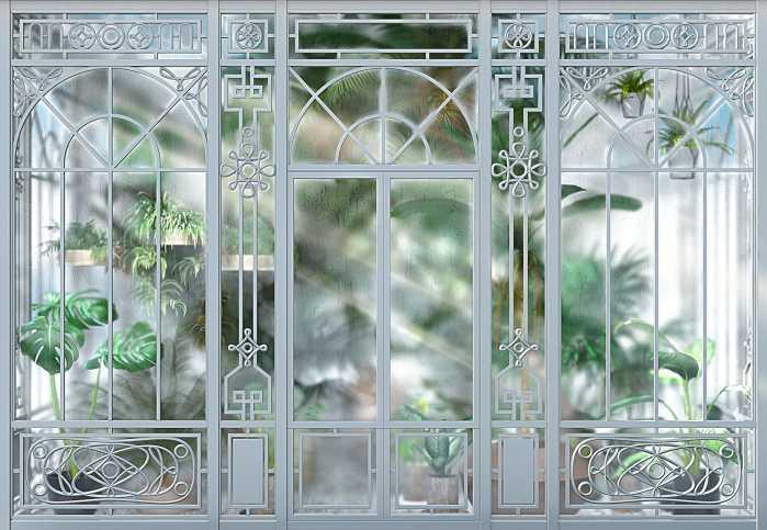 Photomural Orangerie