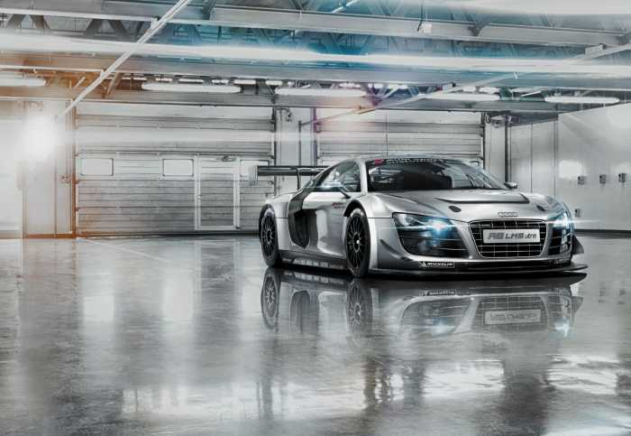 Photomural Audi R8 Le Mans