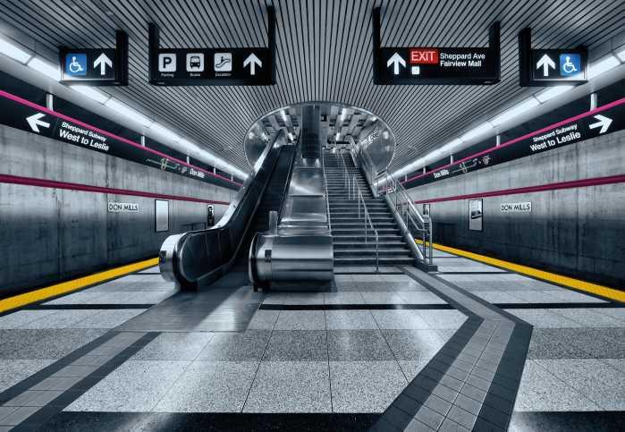 Photomural Subway