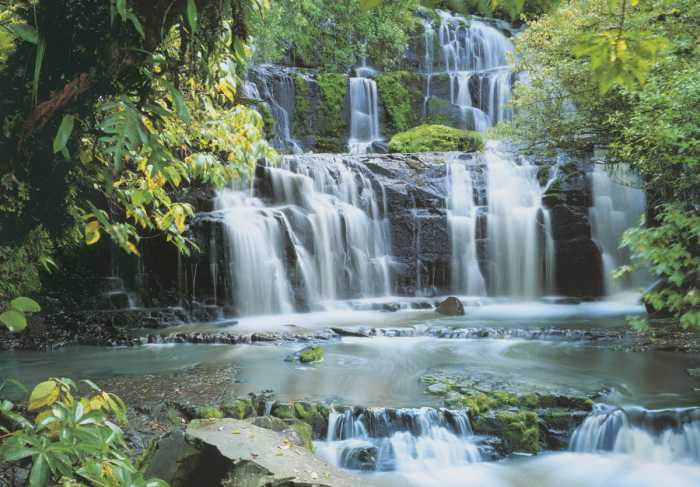 Photomural Pura Kaunui Falls