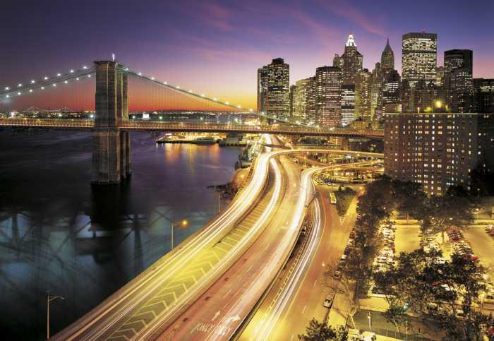 Photomural NYC Lights