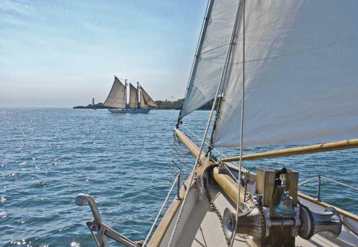 Photomural Sailing