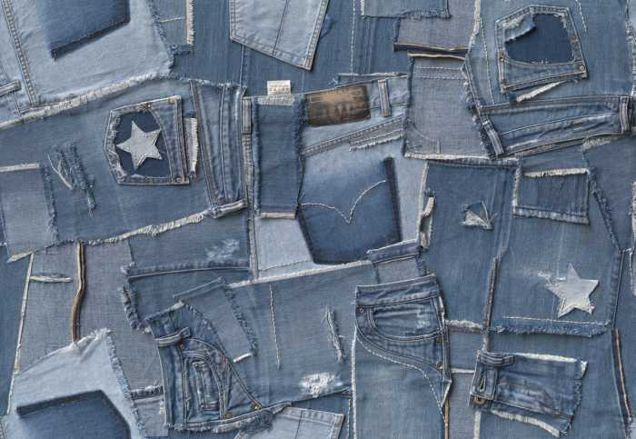 Photomural Jeans