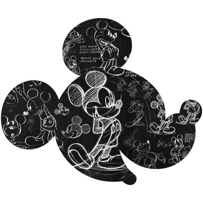 Wall tattoo Mickey Head Illustration