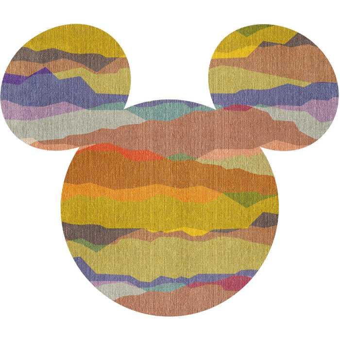 Wall tattoo Mickey Head Vista