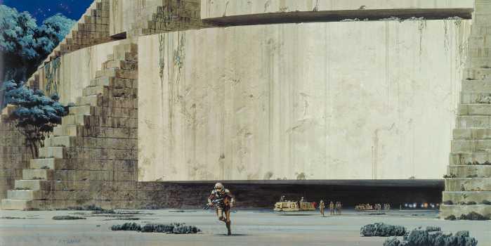 Digital wallpaper Star Wars Classic RMQ Yavin Temple